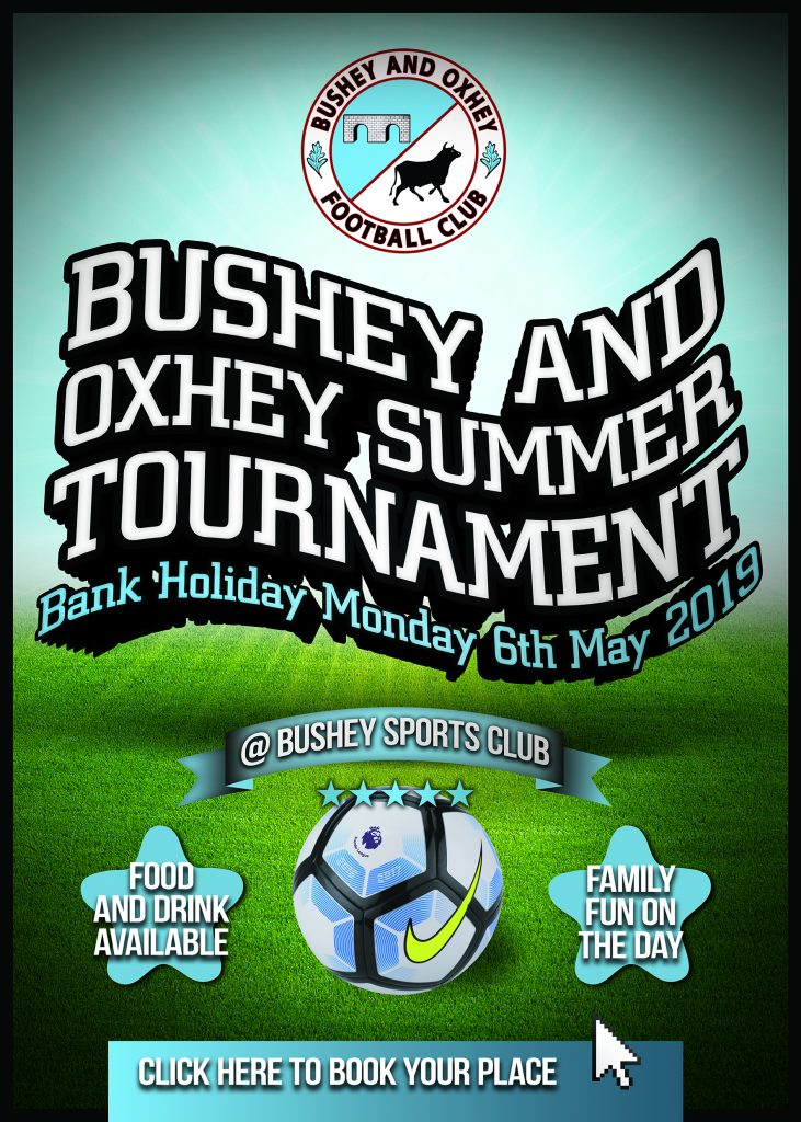 The Bushey & Oxhey FC Tournament 2019 | Bushey and Oxhey FC